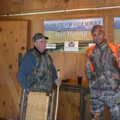 Gabe Martinez and Don Honold
