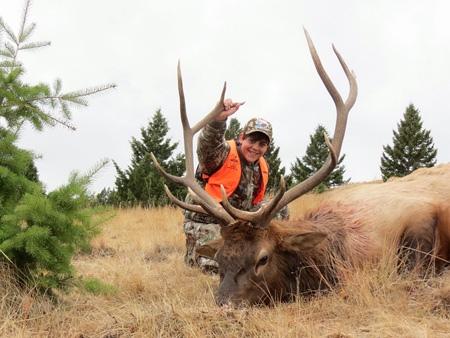 Jesse Perrault's elk