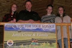 John & Family Banner