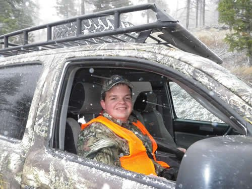 Sam's bear hunt