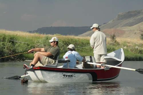 Shad Murphy's fishing trip
